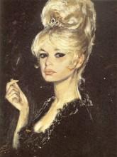 Портрет Бриджит Бардо из коллекции Жака Дессанжа